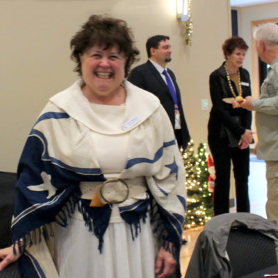 Karen Helgesen chaired 2018 Holiday Party