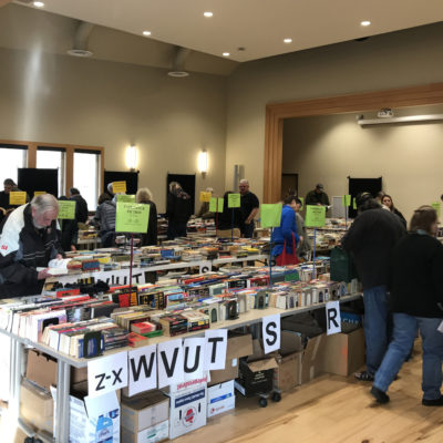 Book Sale open to the public!